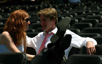 College students find love on campus (photo via Andrew Flavin)
