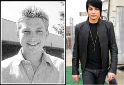 adam lambert yearbook picture