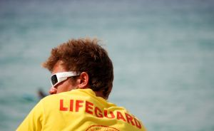 male lifeguard