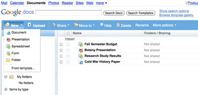 google docs for students