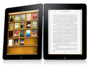 iPad textbooks are a buzz-worthy feature of Apple's new product. (photo via PCWorld)