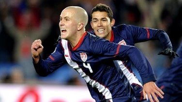 US versus Slovenia: Image Via Timothy A. Clary/AFP/Getty Images