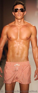 Mercedes-Benz Fashion Week Miami Swim Shorter Board Shorts