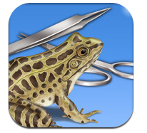 The Frog Dissection App for iPads