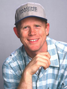 Actor and Director Ron Howard