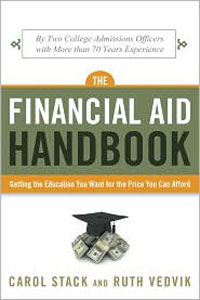 The Finacial Aid Handbook book cover by Stack and Vedvik