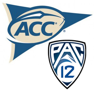 ACC and Pac 12 Logos
