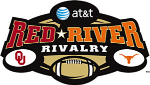 AT&T Red River Rivalry Logo