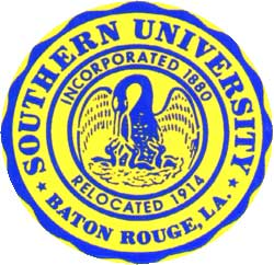 Round Sourthern University Seal