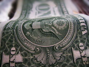Dollar Bill close-up
