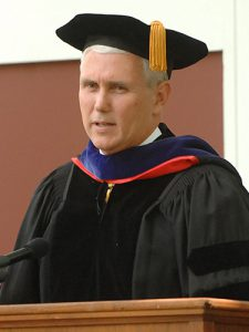 Mike Pence College Education